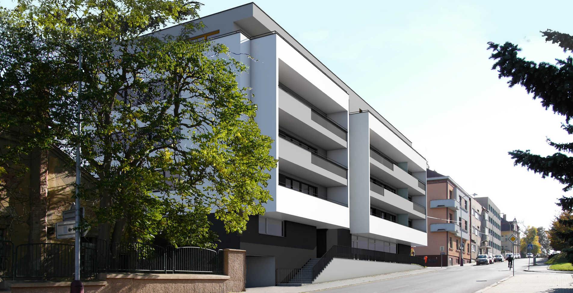 Rezidence Havlíčkova v Mladé Boleslavi obsahuje 24 bytů