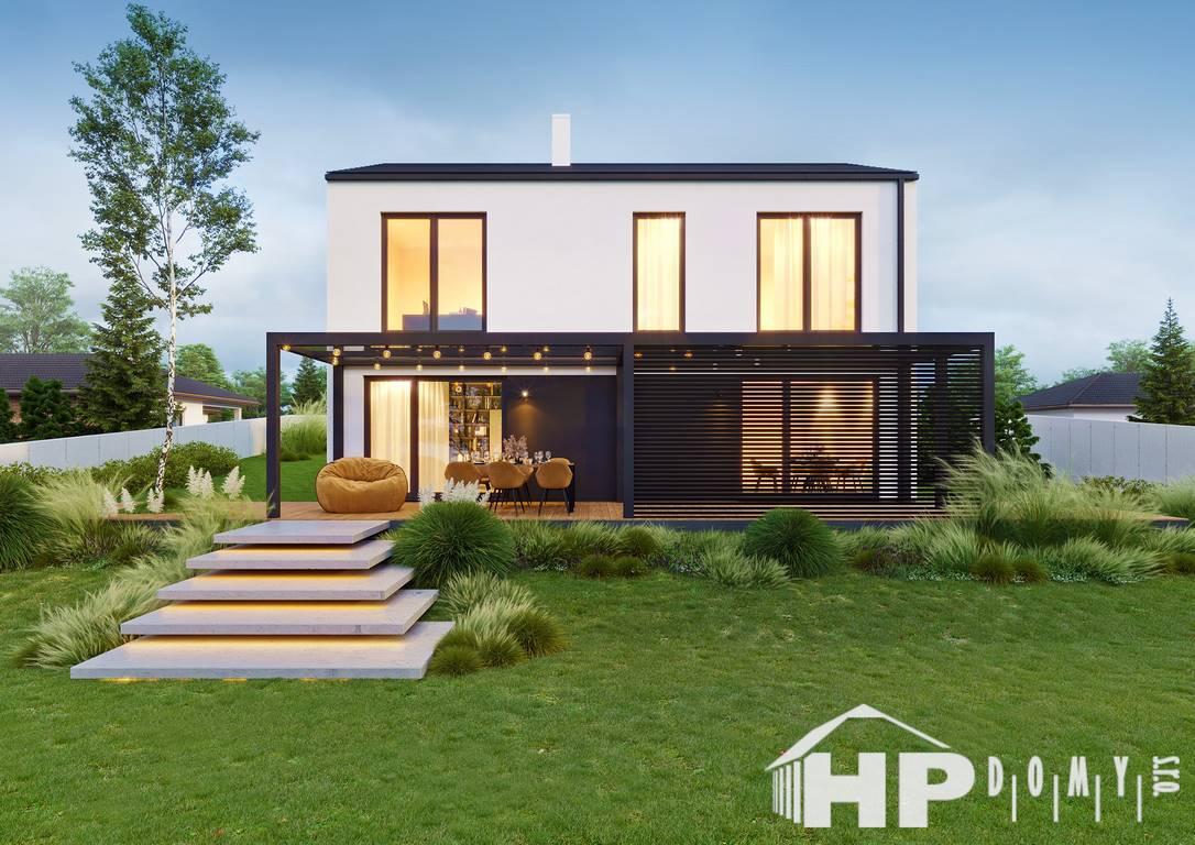 Patrový dům 5+kk, dřevostavby na klíč, HP140