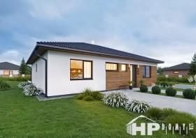 Bungalov 5+kk, dřevostavby na klíč, HP109