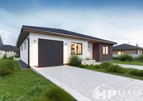 Bungalov 4+kk, dřevostavby na klíč, HP128