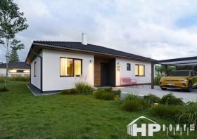Bungalov 4+kk, dřevostavby na klíč, HP111