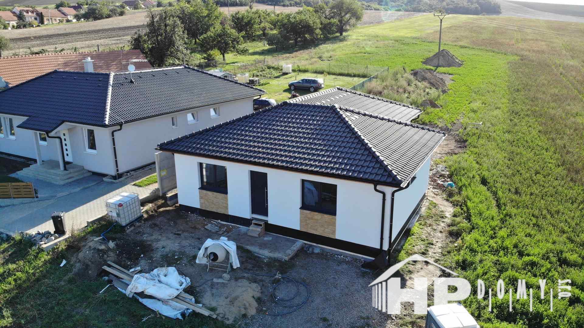 Moderní dřevostavba Nikolčice