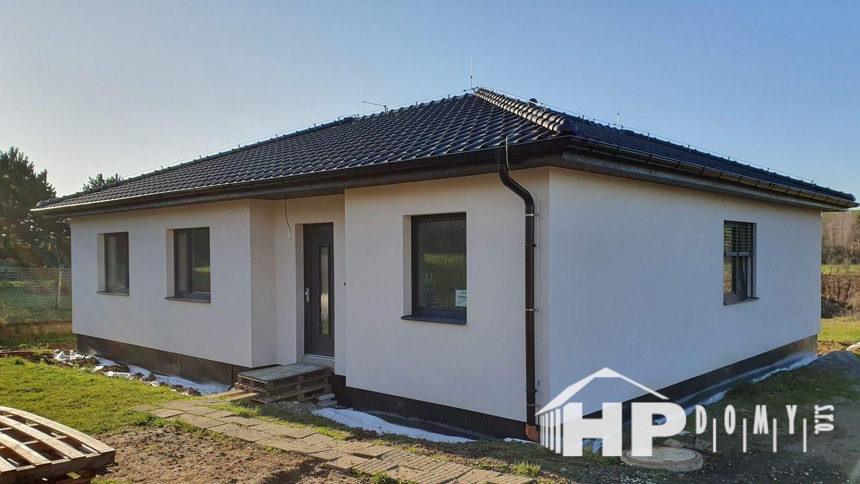 Moderní dřevostavba Sazovice